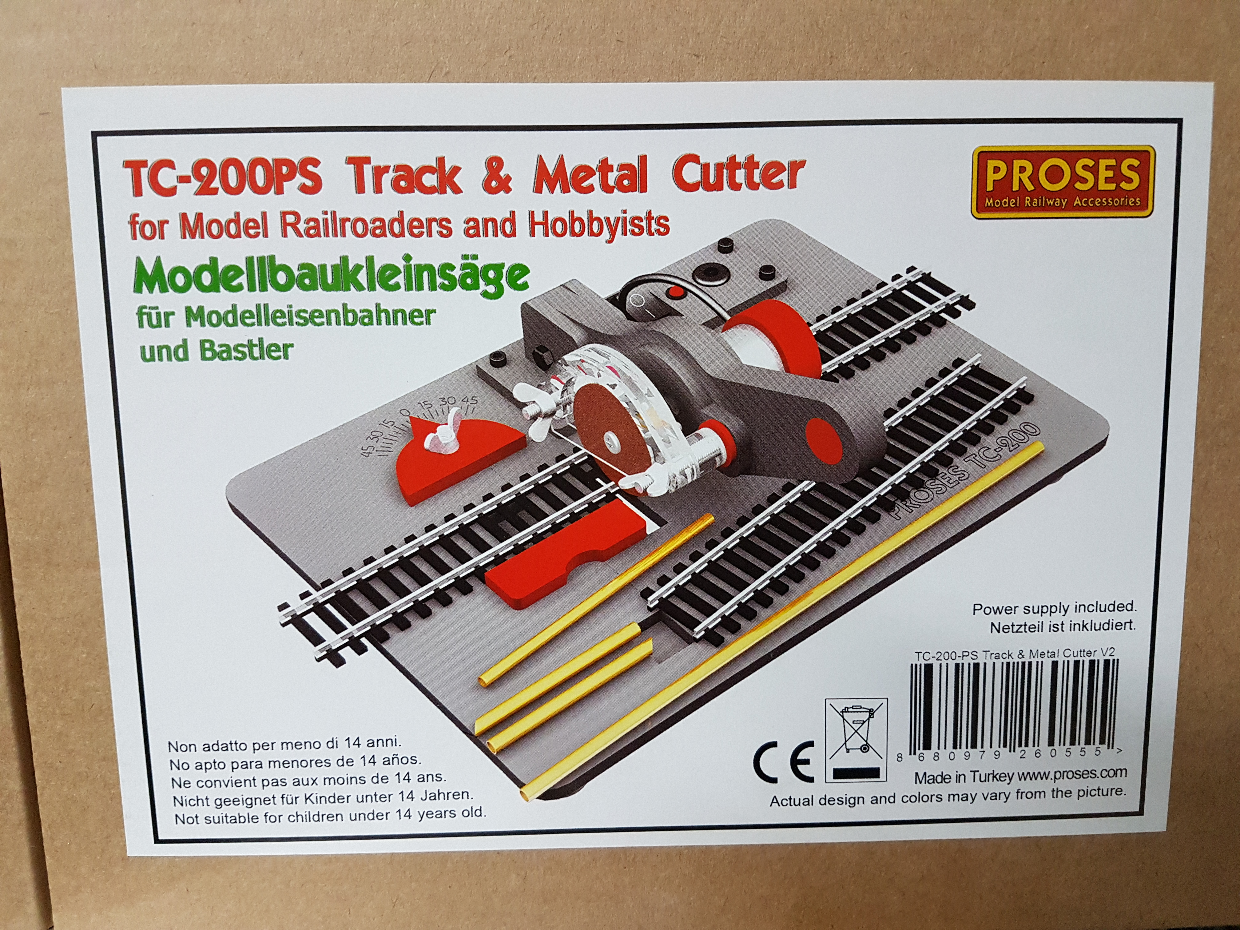 TC-200PS track and metal cutter