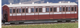 Peco GR-400B Lynton & Barnstable Composite Coach No.6