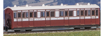 Peco GR-400A Lynton & Barnstable Composite Coach No.5