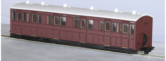 Peco GR-400U L&B Style Composite Coach Unlettered