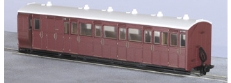 Peco GR-420U L&B Style Brake Coach (Unlettered)