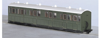 Peco GR-401U L&B Composite Coach SR Green Unlettered