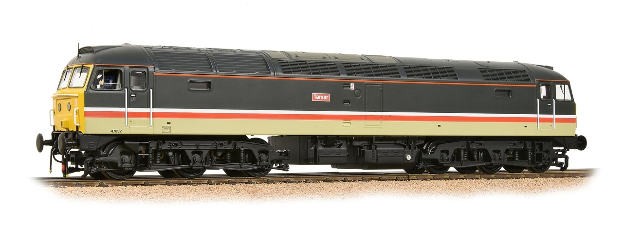 "Bachmann 32-651DBClass 47 47832 ""TAMAR"" BR Intercity regional exclusive model"