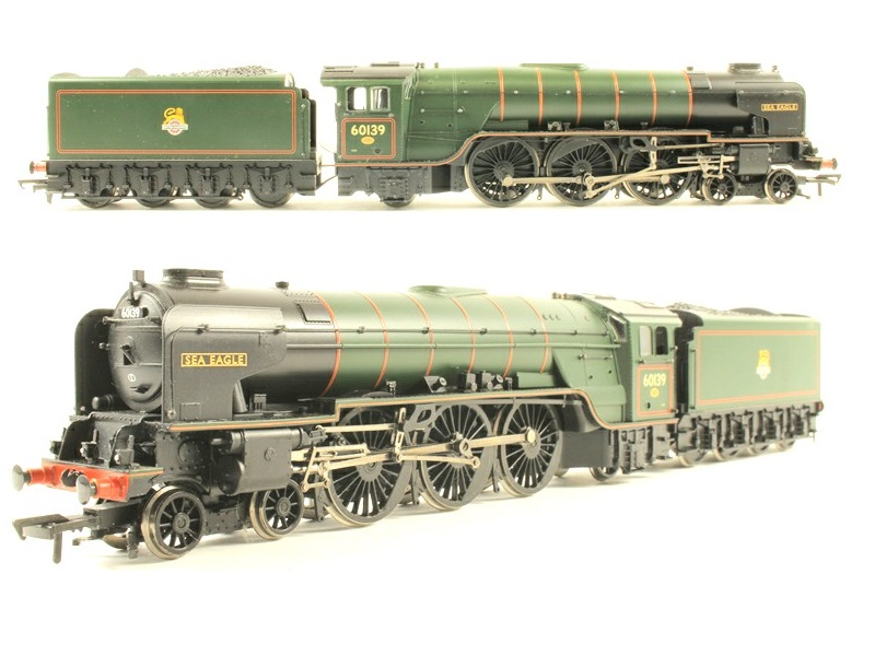 Bachmann 32-551DS Class A160139 'SEA EAGLE' BR Green Early Emblem DCC Sound