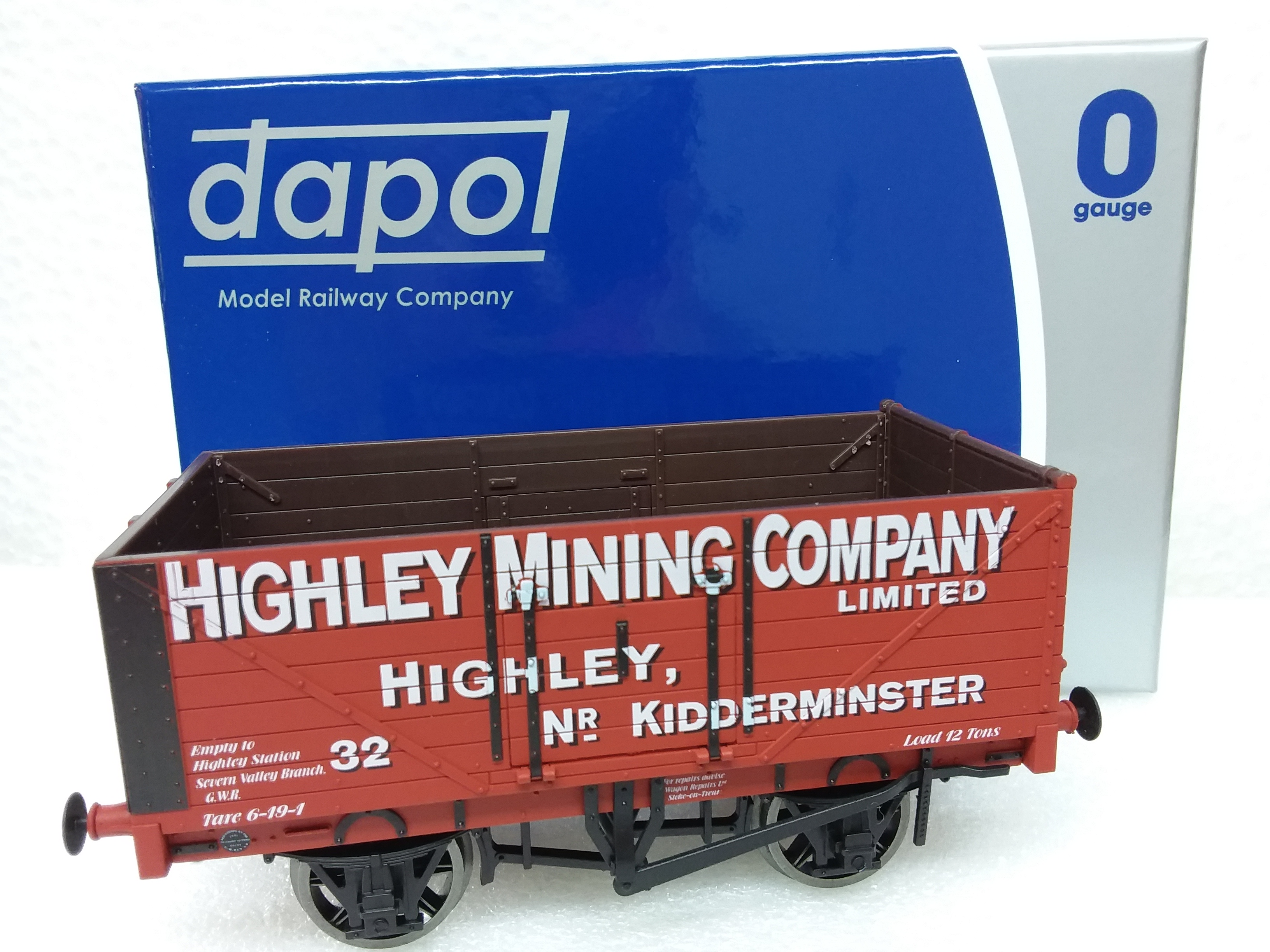 Dapol FPO - 001 HIGHLEY MINING Company Ltd No 32 Exclusive to Footplate (50)
