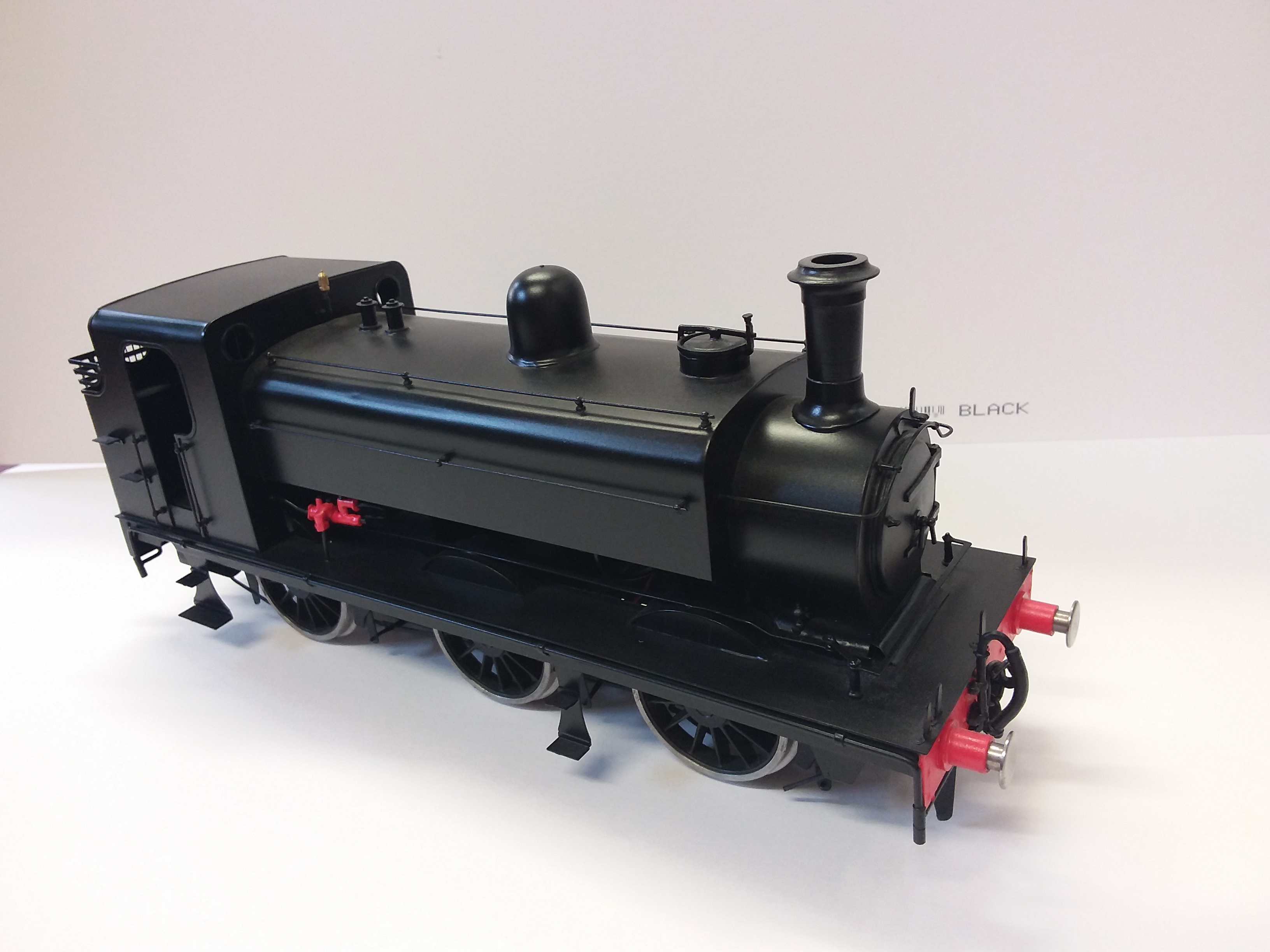 Kit built J52 unlettered test run only well build model