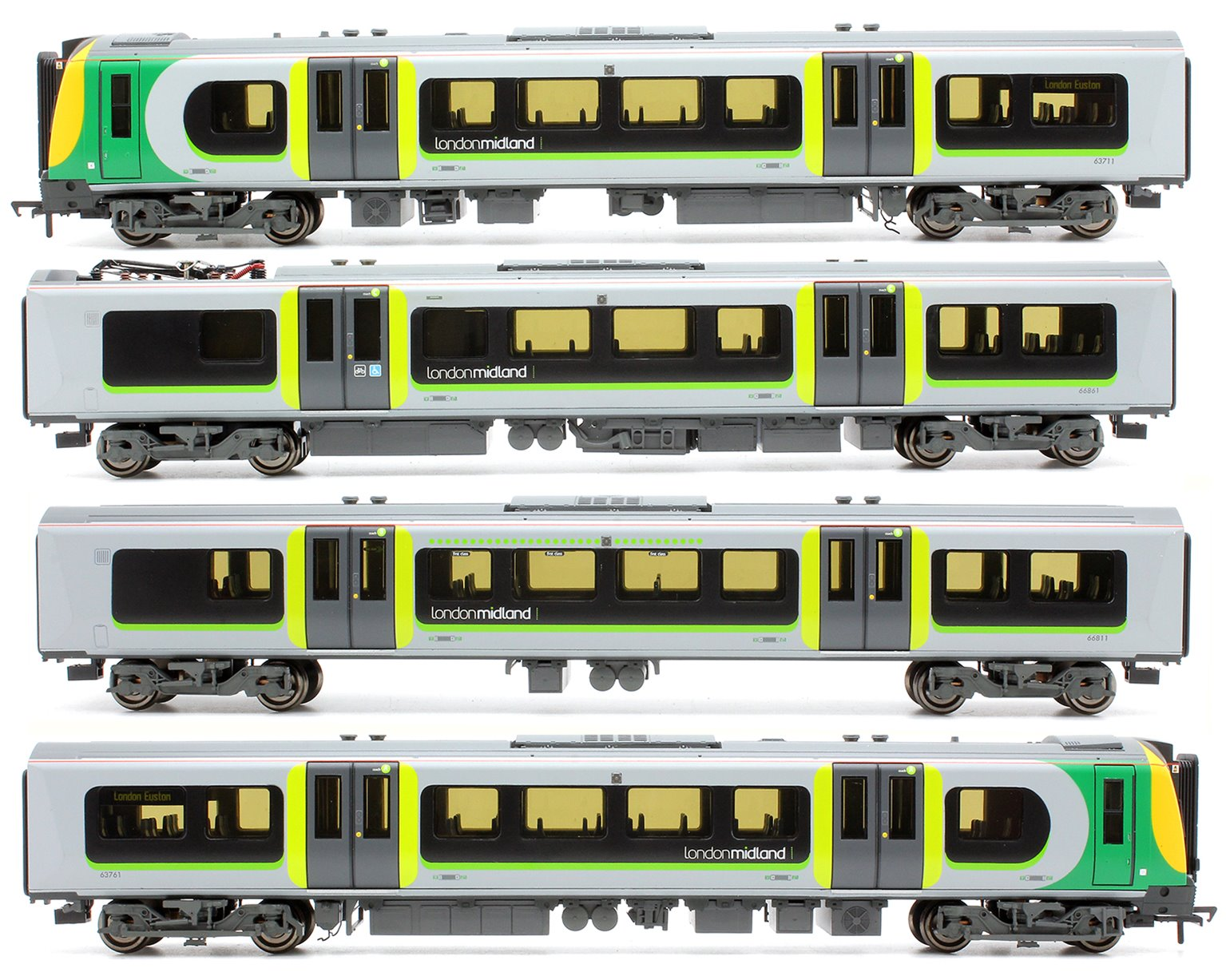 Bachmann 31-032 Class350/1 Desiro four car EMU 350010 London Midland