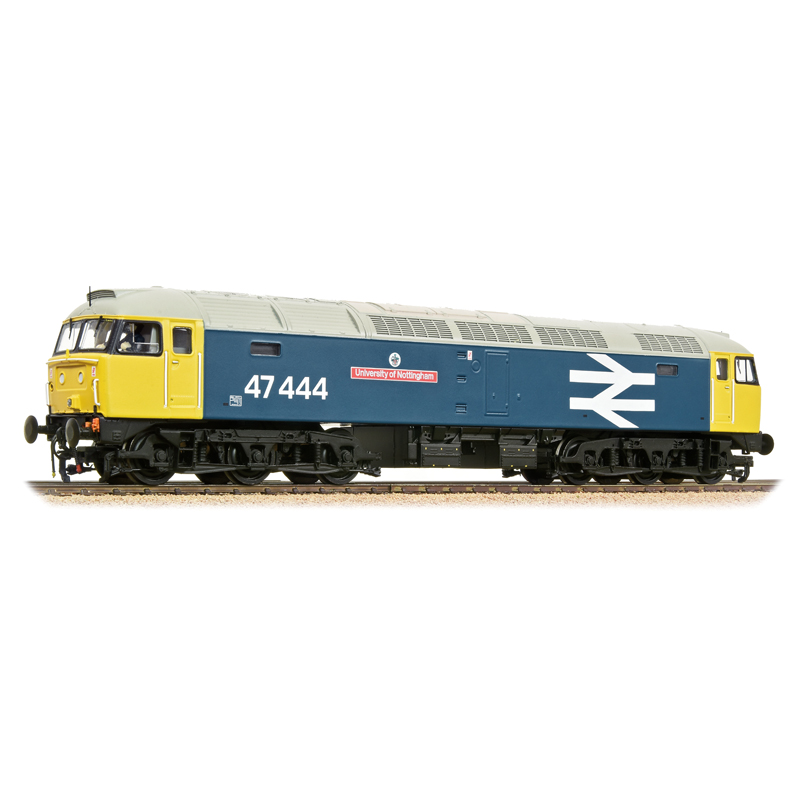 "Bachmann 31-660A Class 47/4 47444 ""University of Nottingham"" BR Blue Large Logo"