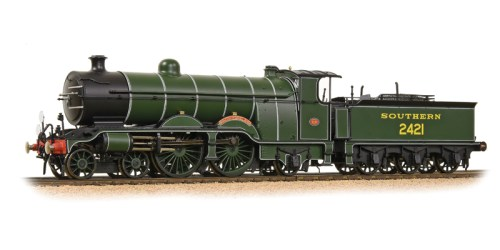 "Bachmann 31-920 H2 Class 4-4-2 2421 ""South Foreland"" SR Olive Green"