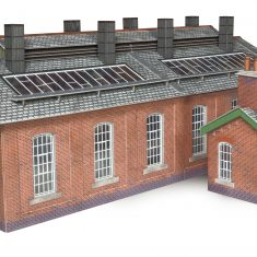 Metcalfe Models PO313 Double track Engine shed ( replaces P0213 )