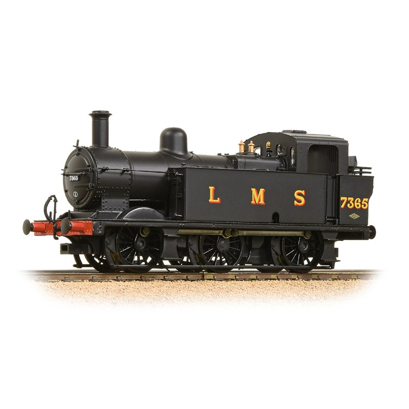 Bachmann 32-227DS Fowler Class 3F 0-6-0 (Jinty) 5365 LBS Black (DCC Sound) - Click Image to Close