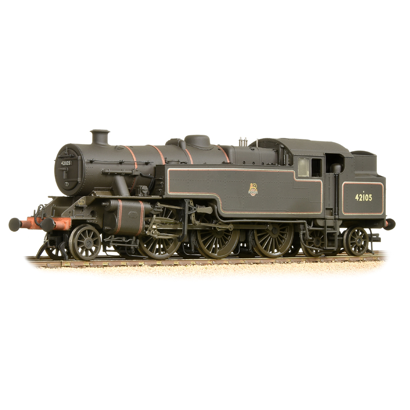 Bachmann 32-881 Fairburn 2-6-4 Tank 42105 BR Lined Black Early Emblem (weathered)