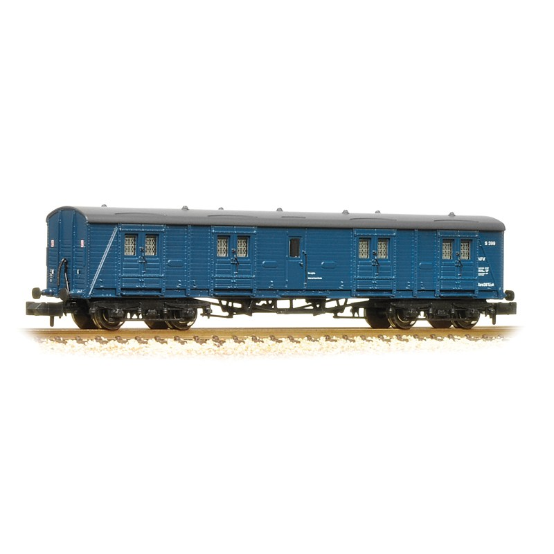 Graham Farish 374-632 Bogie B Luggage van BR Blue