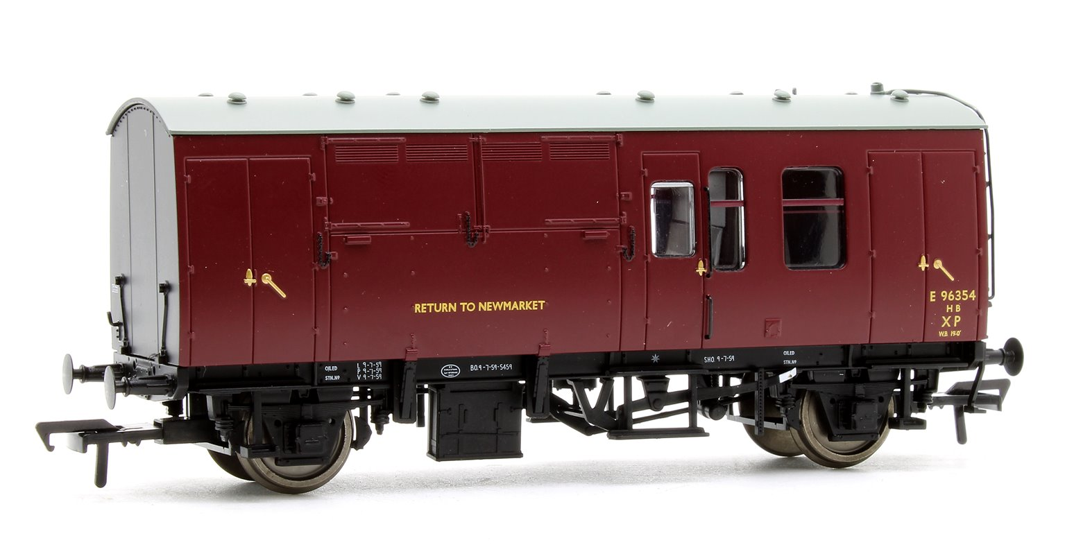 Bachmann 38-525 BR MK1 Hours Box BR Maroon {ER} Livery