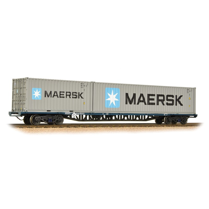 Bachmann 38-628 FFA BR Freightliner Inner Container Flat Maritime Containers
