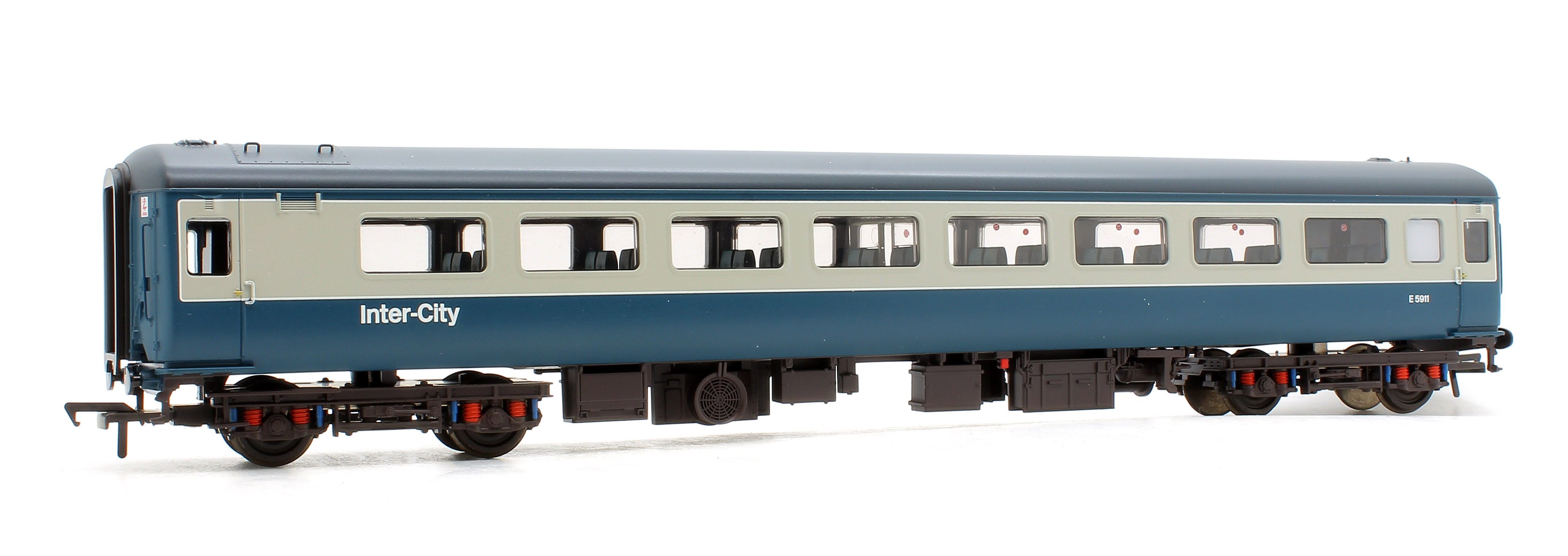 Bachmann 39-675DC BR MK2F TSO Tourist Second Open Blue & Grey DCC