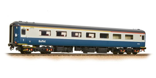 Bachmann 39-685DC BR MK2F RFB Restaurant First Buffet Blue & Grey {Preserved}