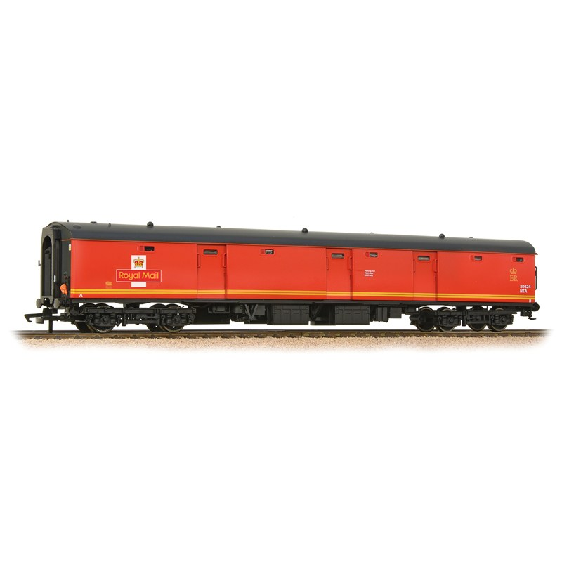Bachmann 39-750 BR MK1 TPO POT Stowage Van Post Office Red with EWS Banding