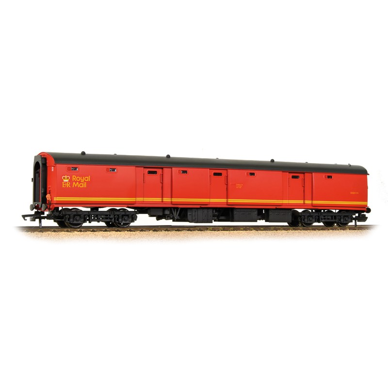 Bachmann 39-760 BR MK1 TPO POT Stowage Van Royal Mail Letters Large Red