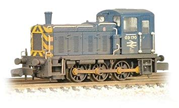 Graham Farish 371-064 Class 03 Diesel Shunter 03170 BR Blue (weathered)