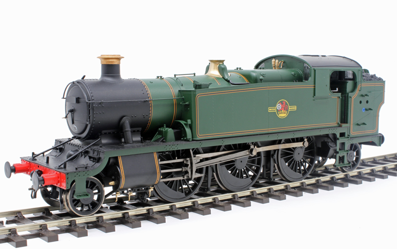 Heljan 6123 2-6-2T 'Large Prairie' Un-numbered BR Lined Green with late crest