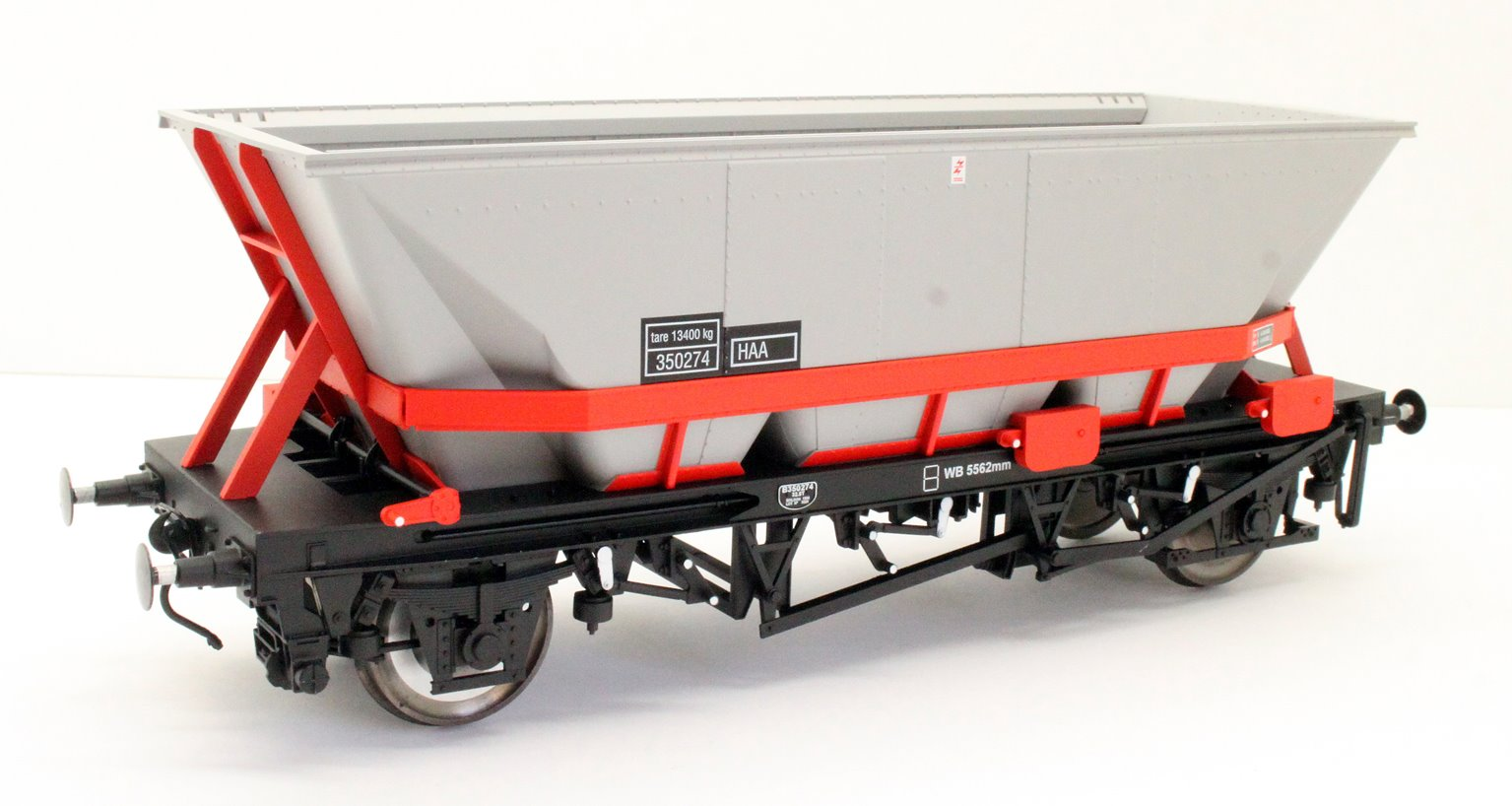 Dapol 7F-048-001 MGR HA A Coal Wagon (red cradle) #350274