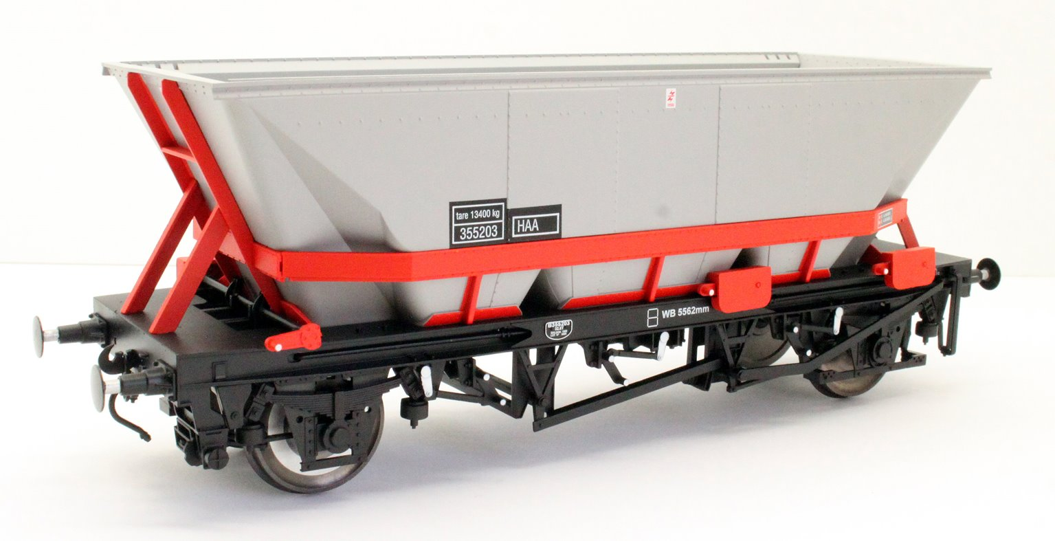 Dapol 7F-048-002 MGR HA A Coal Wagon (red cradle) #355203