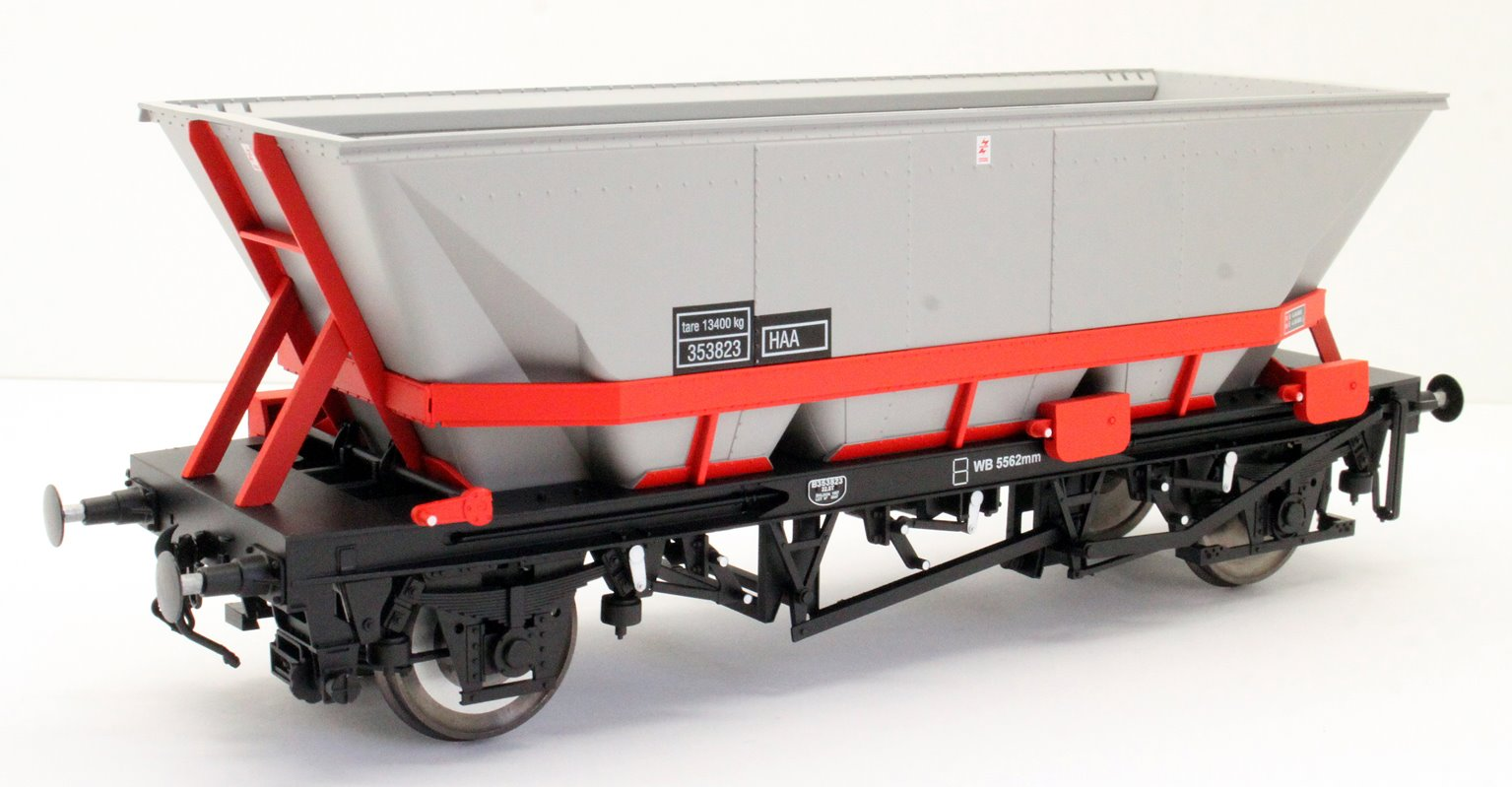 Dapol 7F-048-003 MGR HA A Coal Wagon (red cradle) #353823