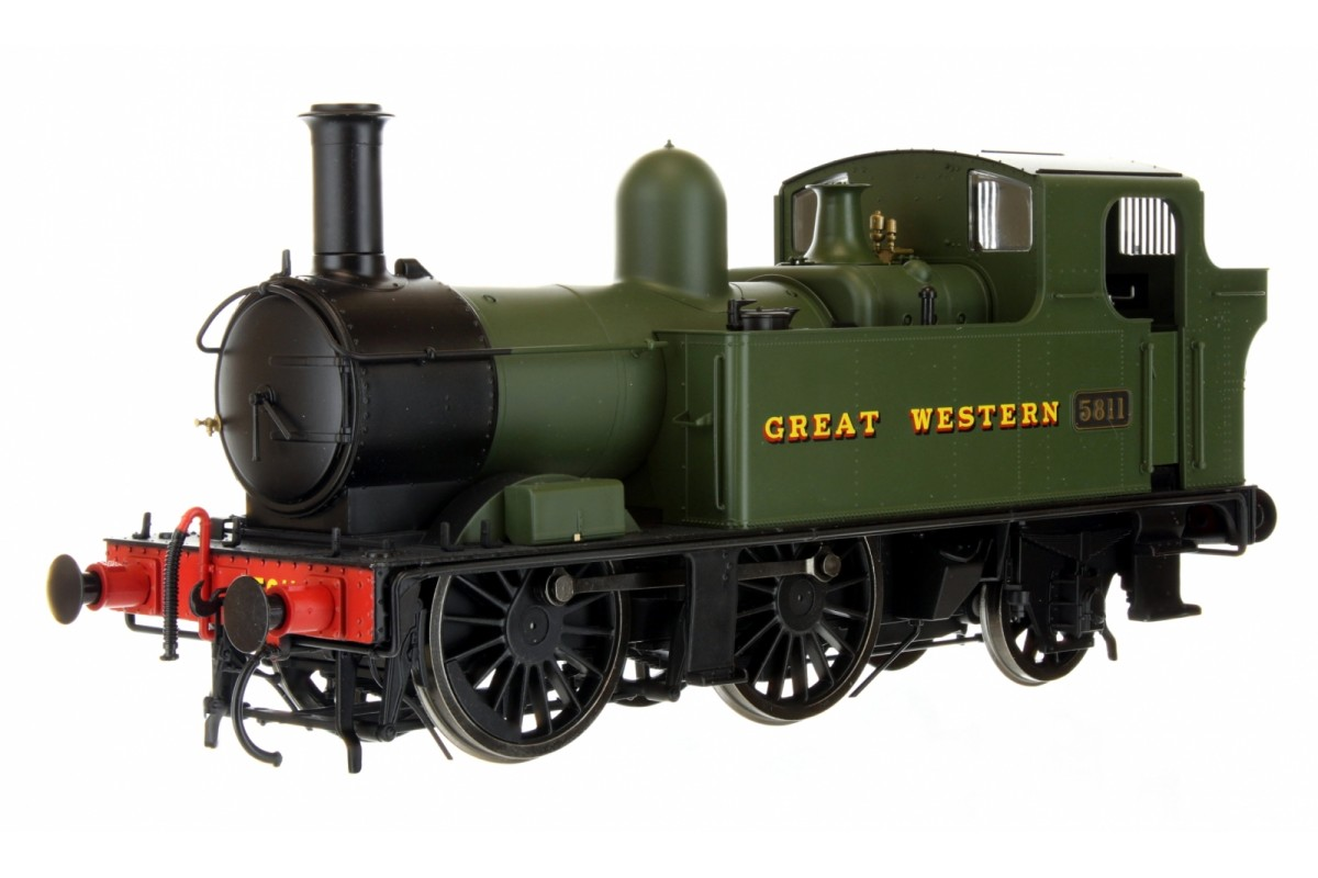 7S-006-050 O GAUGE 58XX CLASS GREAT WESTERN GREEN 5811