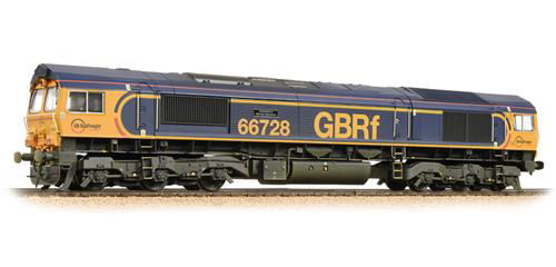 Bachmann 32-980A Class 66 66728 ' Institiution of Railway Operators ' GBRF ( WEATHERED)