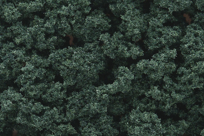 Woodland Scenics FC1647 Bushes Dark Green - Shaker