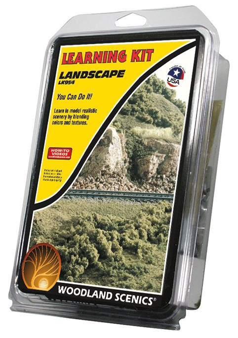 Woodland Scenics LK954 Landscaping Learning Kit