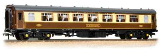 Bachmann 39-310C BR Mk1 SP Pullman Second Parlour 'Car 350' Umber & Cream (with lighting)
