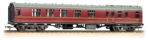 Bachmann 39-001 Twin Pack Mk1 coaches Works Test Train BR blue & grey (weathered)