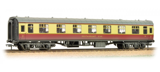 Bachmann 39-252C BR Mk1 RFO Restaurant Car Crimson & Cream (weathered)