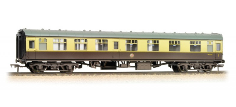 Bachmann 39-129C BR Mk1 CK Composite Corridor Chocolate & Cream (weathered)