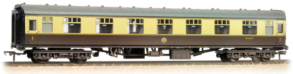 Bachmann 39-154C BR Mk1 FK First Corridor Chocolate & Cream (weathered)