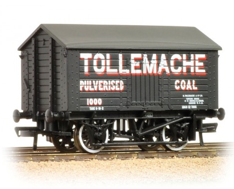 Bachmann 33-184 10t Covered Wagon 'Tollemache Pulverised Coal'