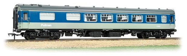 Bachmann 39-301A Mk.1 SK Pullman kitchen 2nd coach Blue & Grey (lighting)