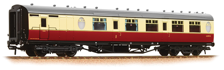Bachmann 34-436 Thompson Composite Brake Coach BR Crimson & Cream