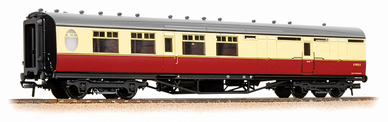 Bachmann 34-461 Thompson 3rd Class Brake Corridor BR Crimson & Cream