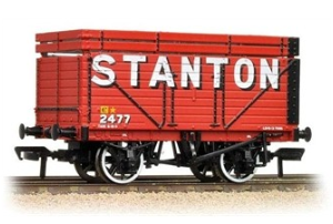 Bachmann 37-206A 8 plank wagon with coke rails 'Stanton'