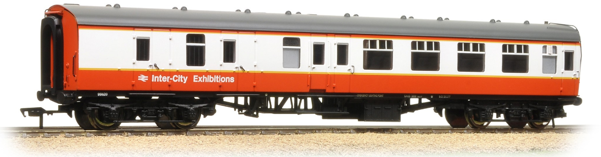 Bachmann 39-075K BR Mk1 BSK Brake Second Corridor Intercity Exhibitions - Collectors Club