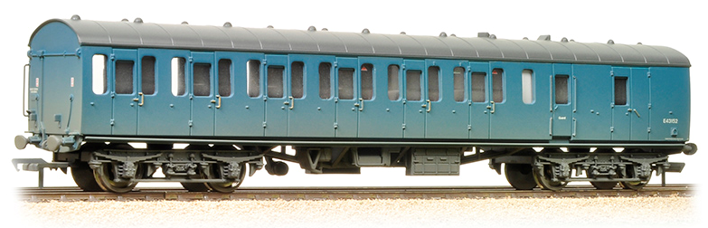 Bachmann 34-632 Mk1 Suburban 2nd Brake BR Blue (weathered)