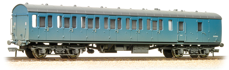 Bachmann 34-633 Mk1 Suburban 2nd Brake BR Blue (weathered)