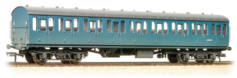 Bachmann 34-677 Mk1 Suburban Open BR Blue (weathered)