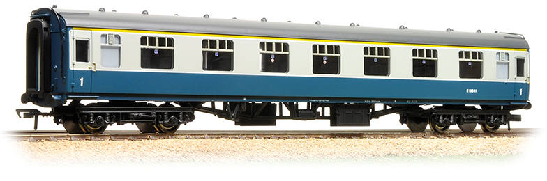 Bachmann 39-150D BR Mk1 FK First Corridor Blue & Grey