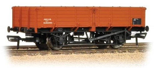 Bachmann 38-701 12t Pipe Wagon BR Bauxite (Late)