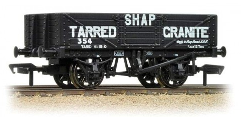 Bachmann 37-035 5 plank wagon steel floor Shap Tarred Granite