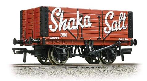 Bachmann 37-110 7 plank fixed end wagon Shaka Salt